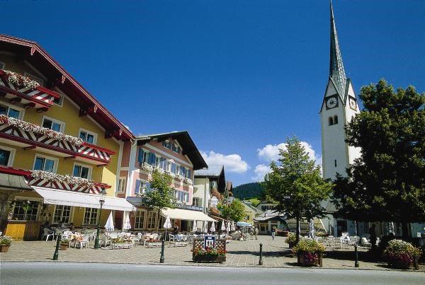 Der Marktplatz von Abtenau