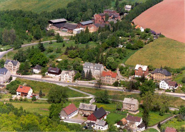 Luftaufnahme von Reinsdorf