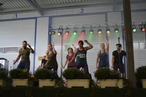 Tanzvorführung von Vitalis Sport Bayrak.