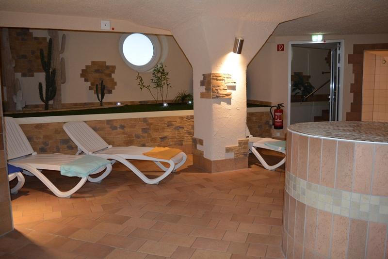 Die Saunagrotte in Münster ist sehr beliebt. Bisher war sie im Eintrittspreis für das Hallenbad enthalten. Seit Anfang Januar kann sie für eine geringe Zusatzgebühr von einem Euro optional genutzt werden. Foto: André Grohe