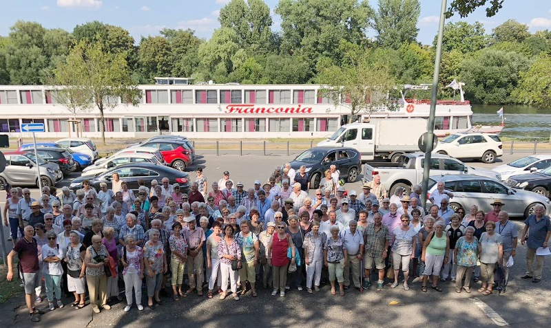 149 Senioren haben in Wiesbaden einen schönen Tag verbracht. Foto: GM/Detlef Pröve