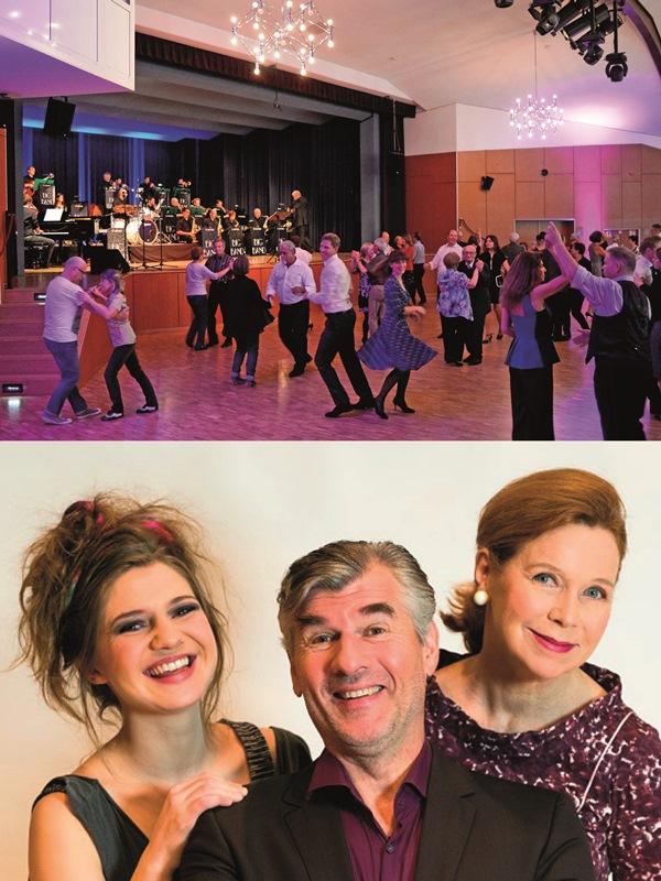 Der Tanztee und das Promi-Theater mit Daniel Morgenroth und Marion Kracht sind die Herbst-Highlights im Kulturprogramm der Gemeinde Münster. Foto oben: GM/Lena Brunn, Foto unten: Barbara Braun/MuTphoto