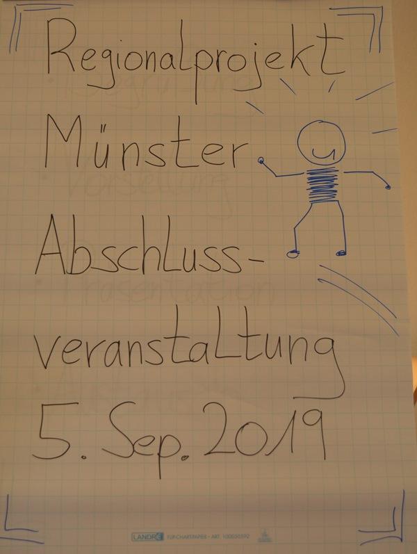 """Das Projekt """"Ich lebe und arbeite in Münster"""" ist zu Ende gegangen. Foto: GM/Meike Mittmeyer-Riehl"""