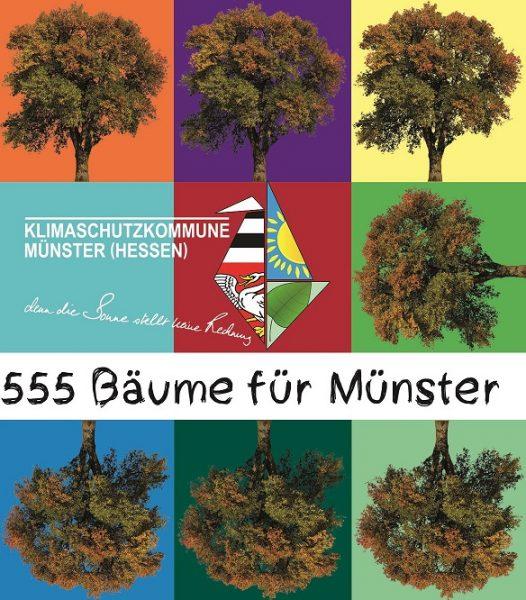 555 Bäume für Münster