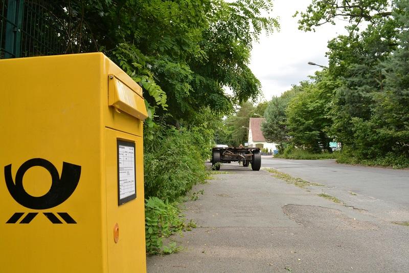 Briefkasten in Breitefeld