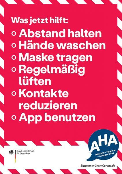 AHA-Regeln