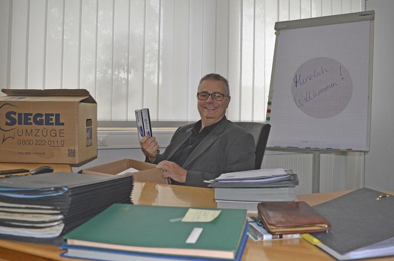 Der neue Bürgermeister Joachim Schledt hat am 5. Oktober 2020 seinen Dienst begonnen. Foto: Meike Mittmeyer-Riehl