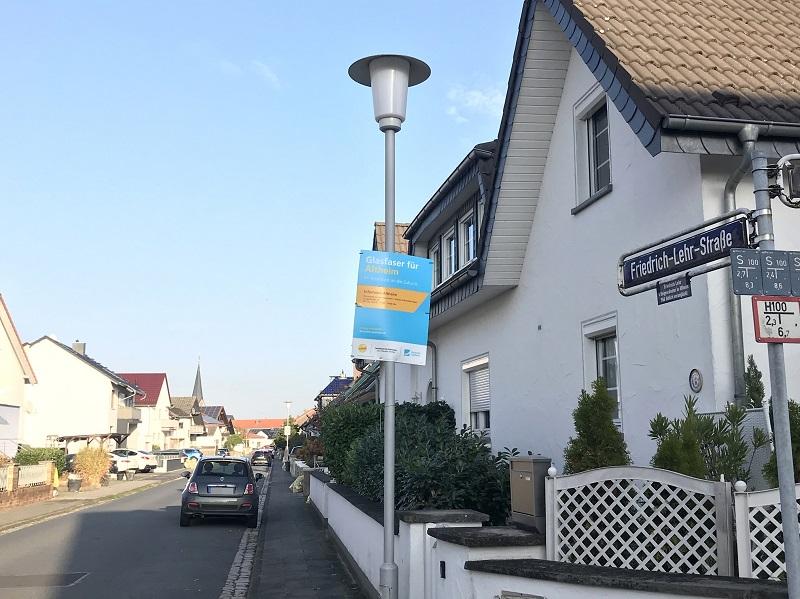 Die Friedrich-Lehr-Straße in Altheim muss grundhaft saniert werden. Foto: Meike Mittmeyer-Riehl