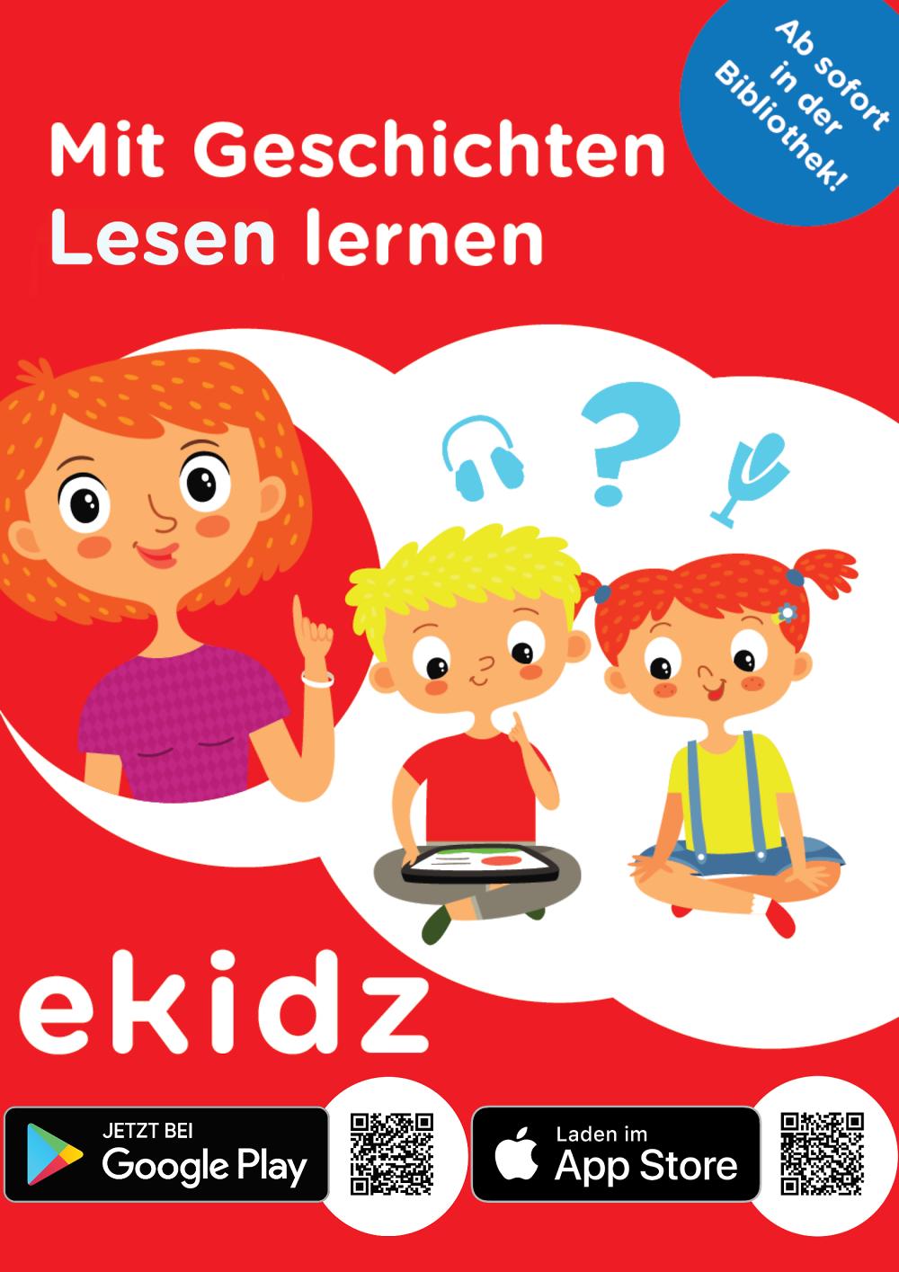 """Lesen lernen mit der App """"eKidz"""". Foto: eKidz"""