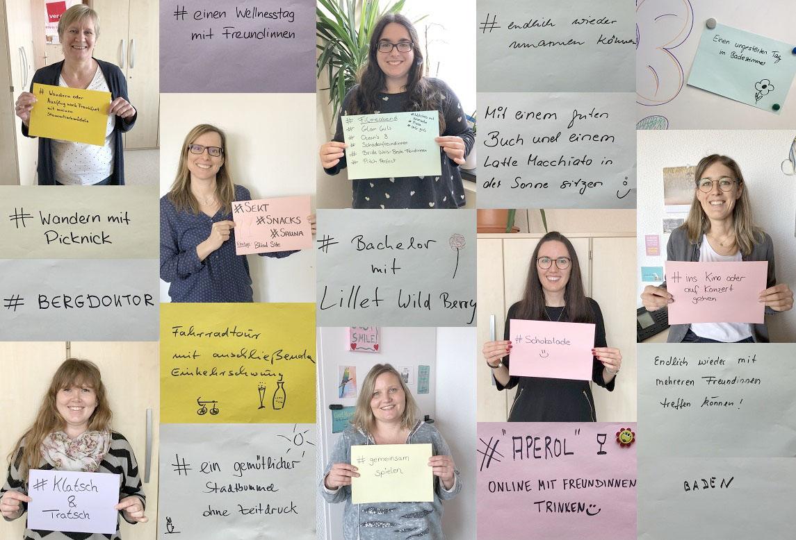 Wir haben Rathausmitarbeiterinnen gefragt: Was ist für euch der perfekte Weltfrauentag - in der Pandemie oder auch danach?