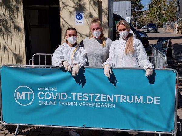Ausgebildetes Fachpersonal wird die Testungen sicher und zuverlässig durchführen. Foto: Medicare/ Jacques Casez