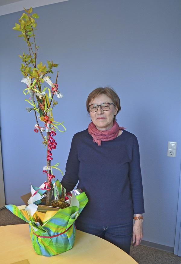 Helga Reker verabschiedet sich in die Altersteilzeit. Foto: GM/Lena Brunn