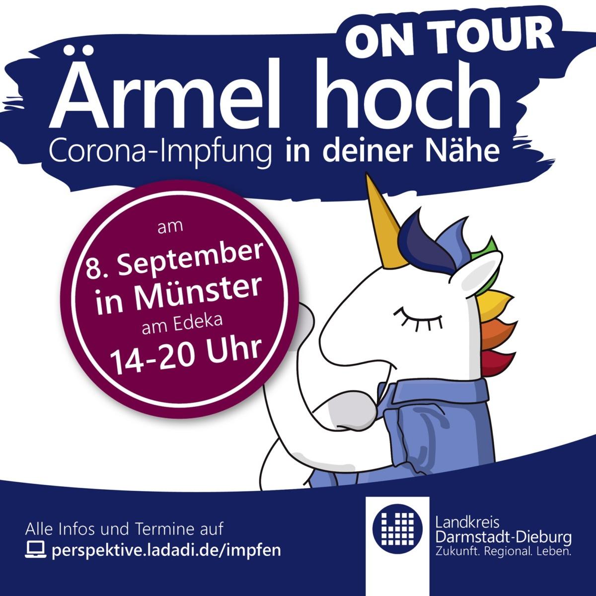 Der Impfbus des Kreises kommt noch einmal nach Münster!
